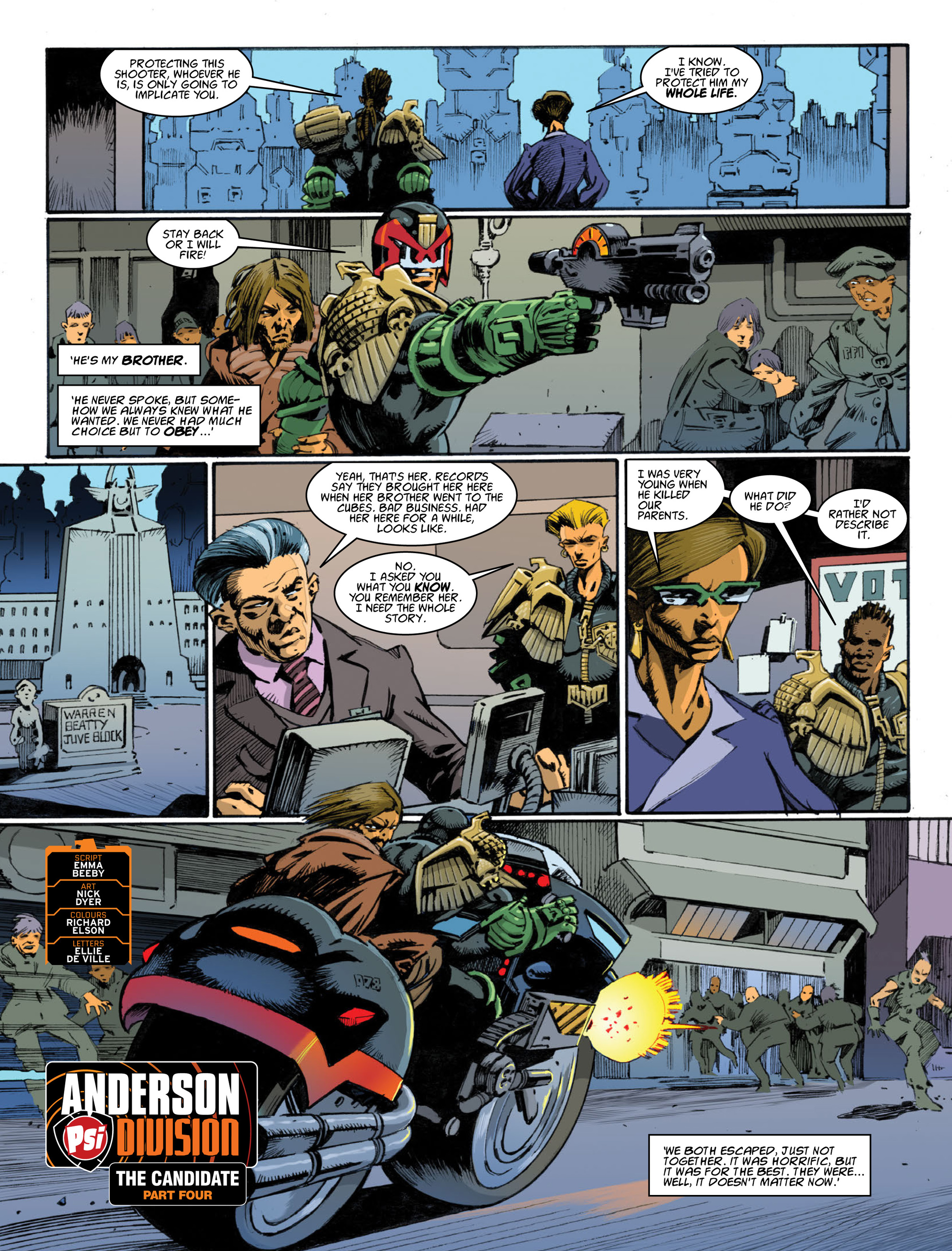 Read online 2000 AD comic -  Issue #1996 - 25