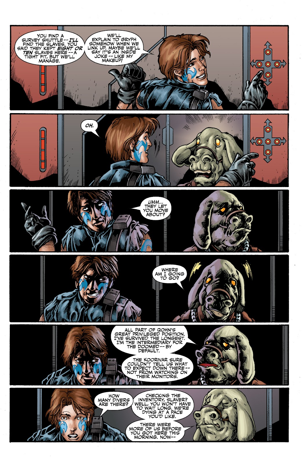 Read online Star Wars Legends: The Old Republic - Epic Collection comic -  Issue # TPB 3 (Part 2) - 31