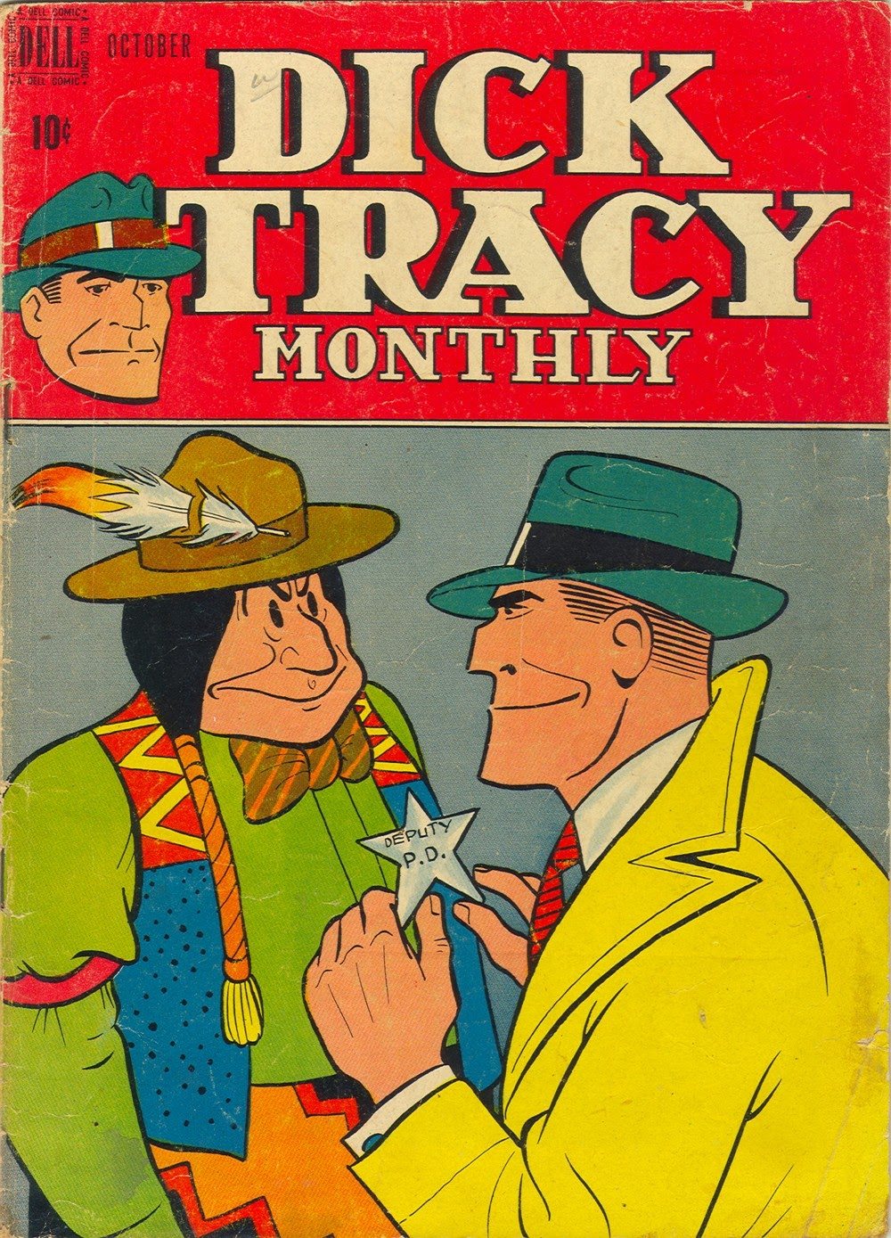 Dick Tracy Monthly 10 Page 1