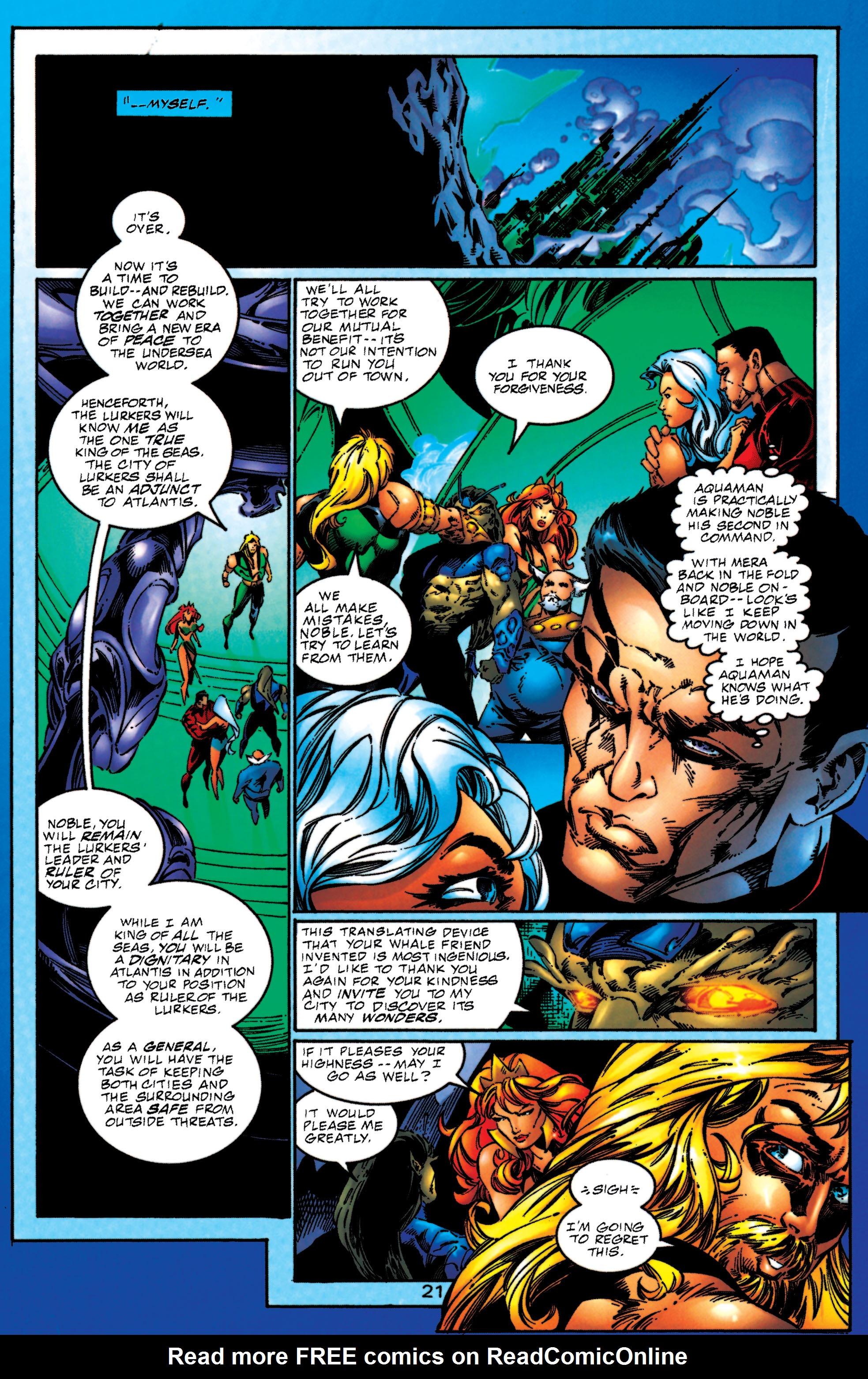 Read online Aquaman (1994) comic -  Issue #51 - 21