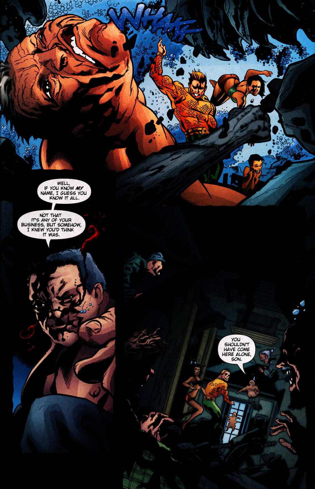 Read online Aquaman (2003) comic -  Issue #25 - 16