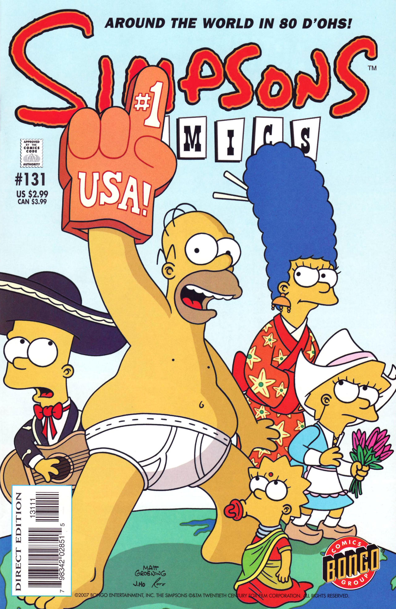 Read online Simpsons Comics comic -  Issue #131 - 1