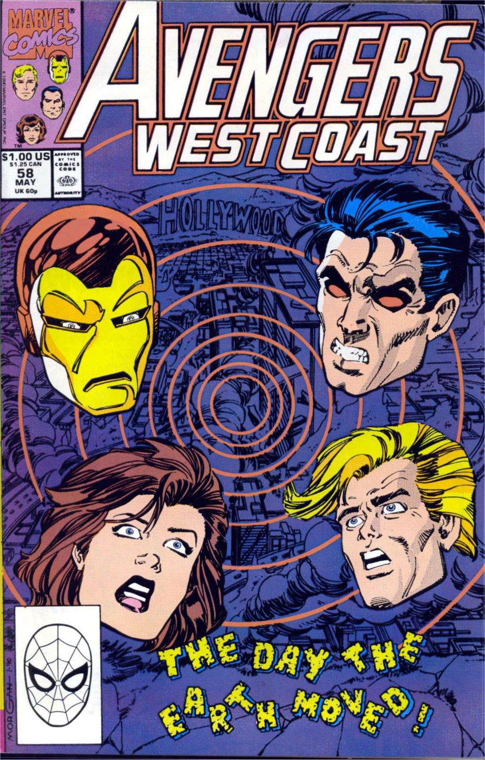 Avengers West Coast (1989) 58 Page 1