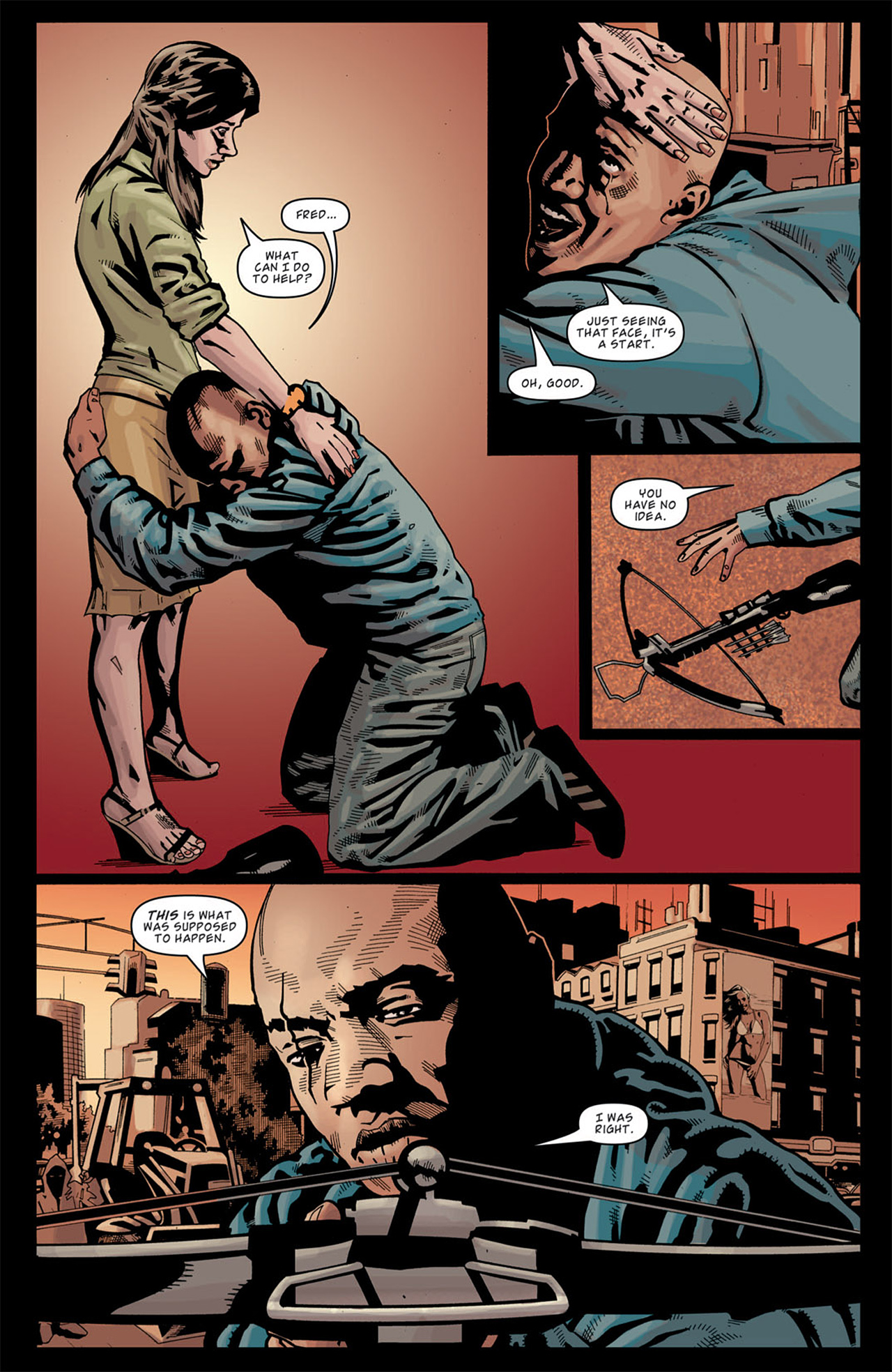 Read online Angel: After The Fall comic -  Issue #13 - 23