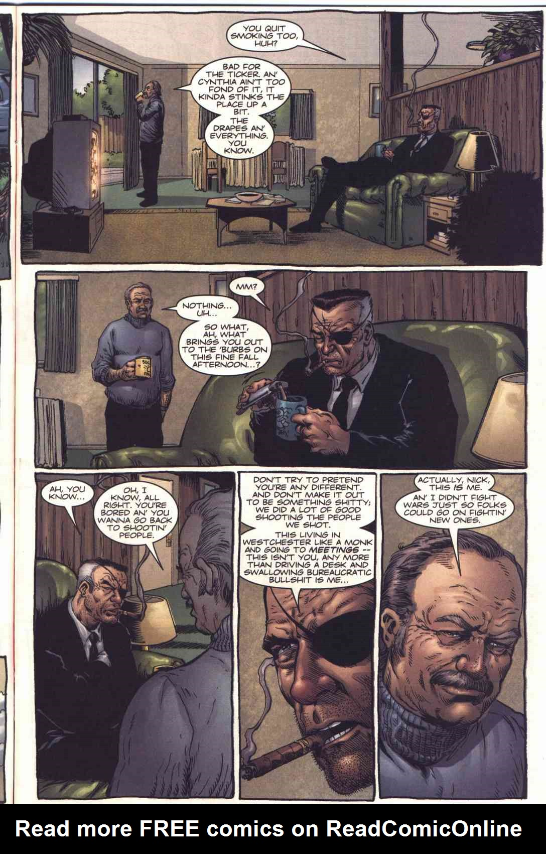 Read online Fury comic -  Issue #2 - 8