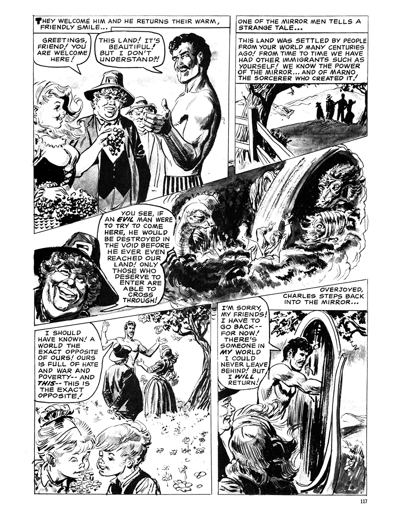 Read online Eerie Archives comic -  Issue # TPB 6 - 117
