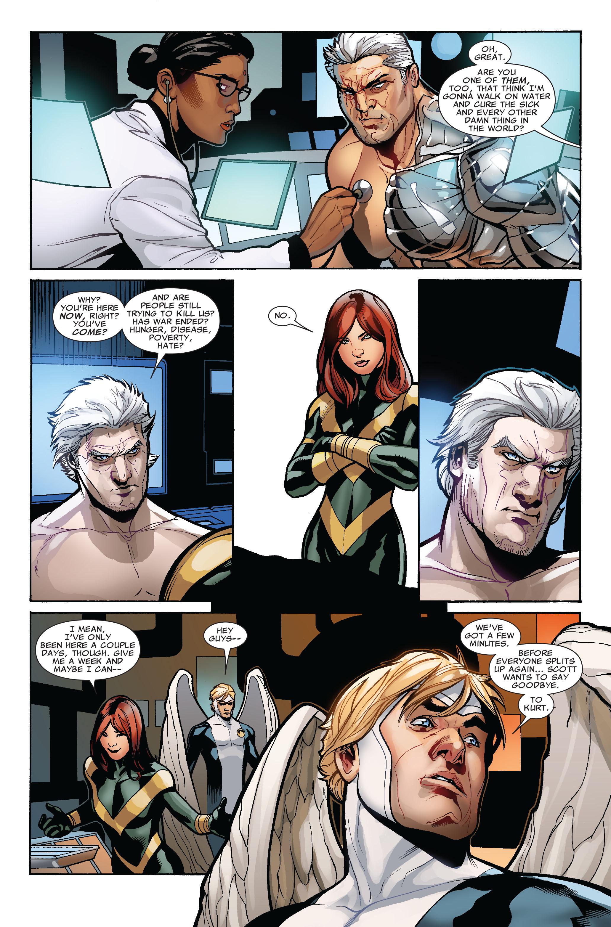 Read online Uncanny X-Men (1963) comic -  Issue #524 - 17