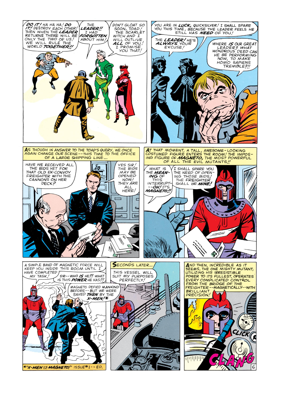 Read online Uncanny X-Men (1963) comic -  Issue #4 - 7