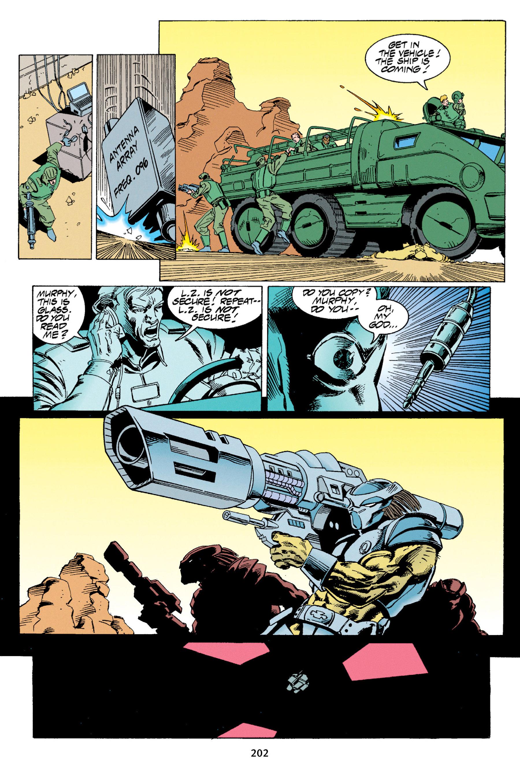 Read online Aliens vs. Predator Omnibus comic -  Issue # _TPB 1 Part 2 - 98