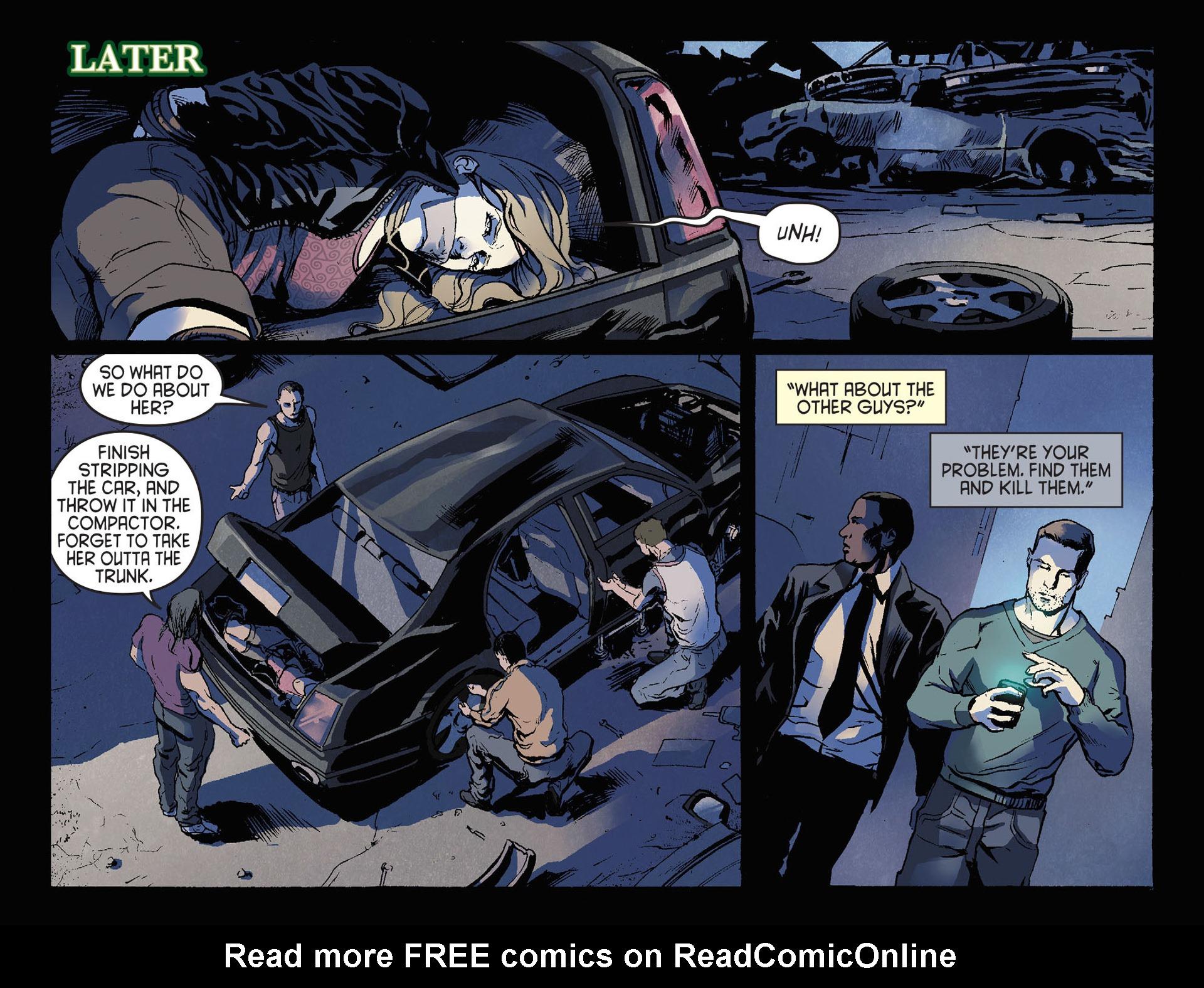 Read online Arrow [II] comic -  Issue #21 - 17