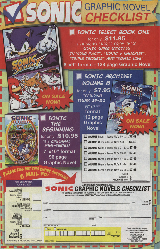 Read online Sonic X comic -  Issue #35 - 29
