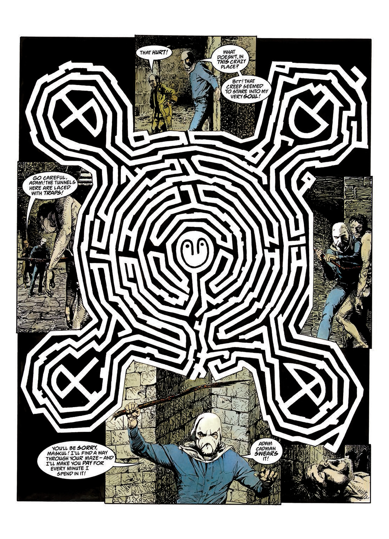 Read online Mazeworld comic -  Issue # TPB - 42