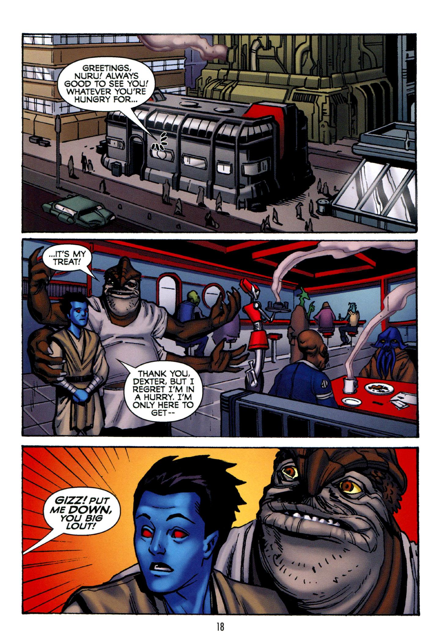 Read online Star Wars: The Clone Wars - Strange Allies comic -  Issue # Full - 19