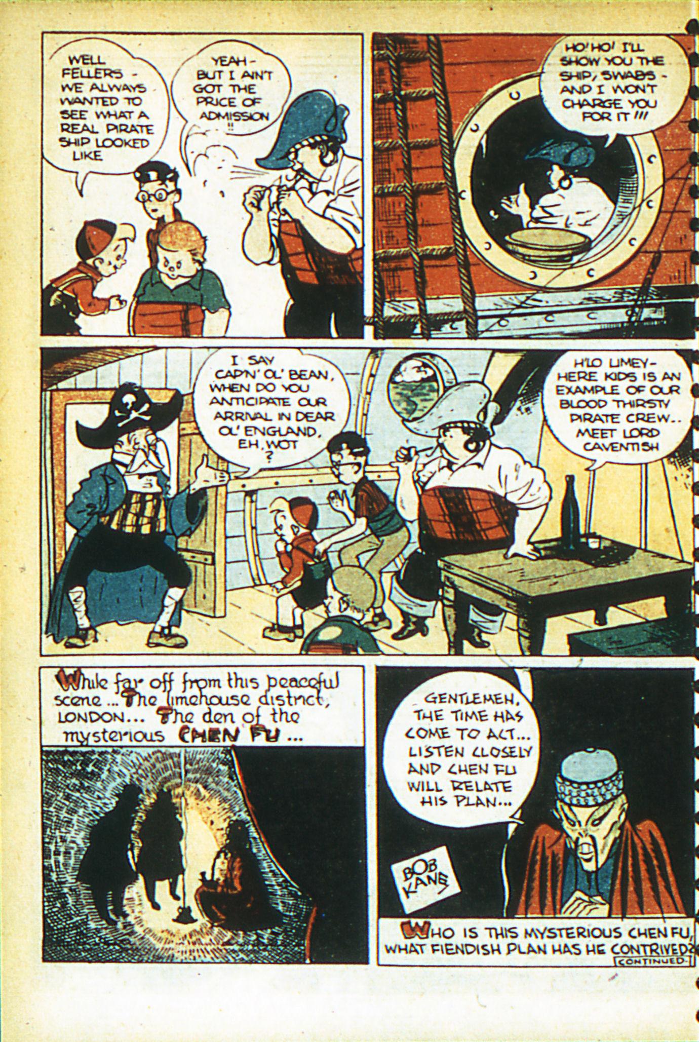 Read online Adventure Comics (1938) comic -  Issue #26 - 19
