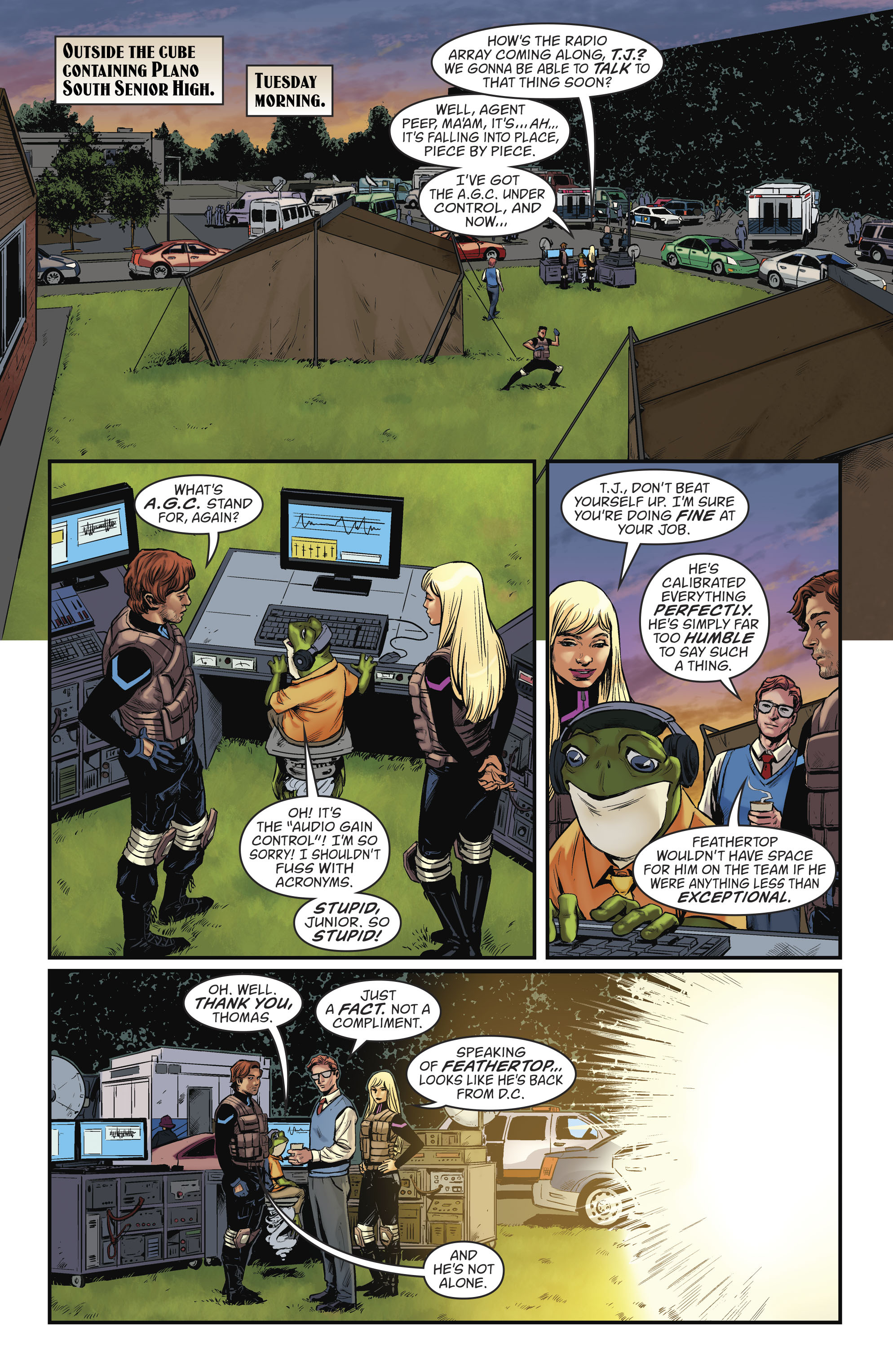 Read online Everafter comic -  Issue #9 - 3