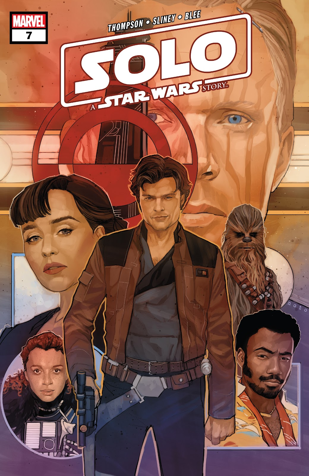 Read online Solo: A Star Wars Story Adaptation comic -  Issue #7 - 1