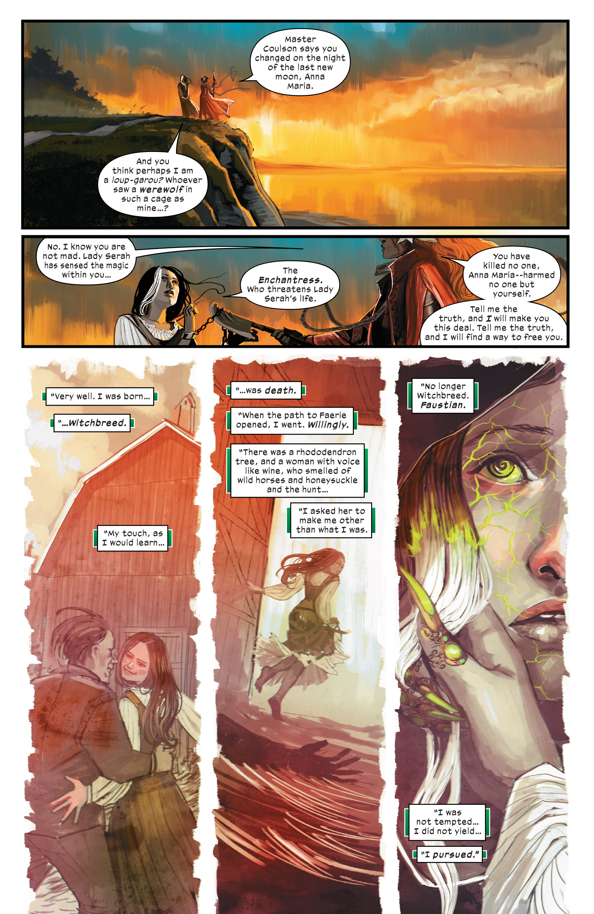 Read online 1602 Witch Hunter Angela comic -  Issue #3 - 7