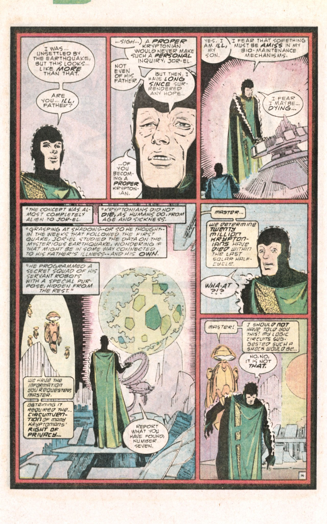 Read online World of Krypton comic -  Issue #4 - 22