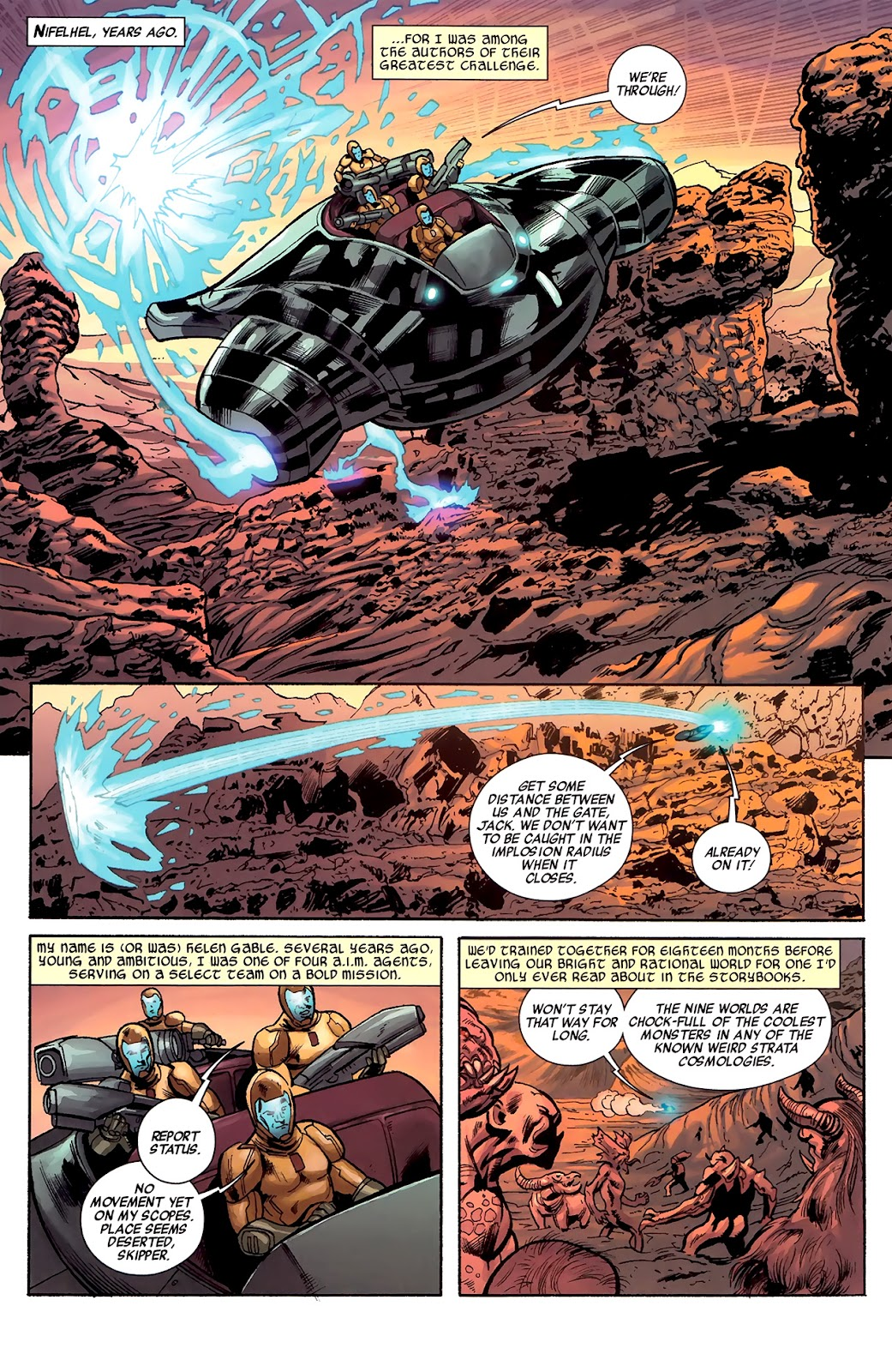 Warriors Three Issue #1 #1 - English 10