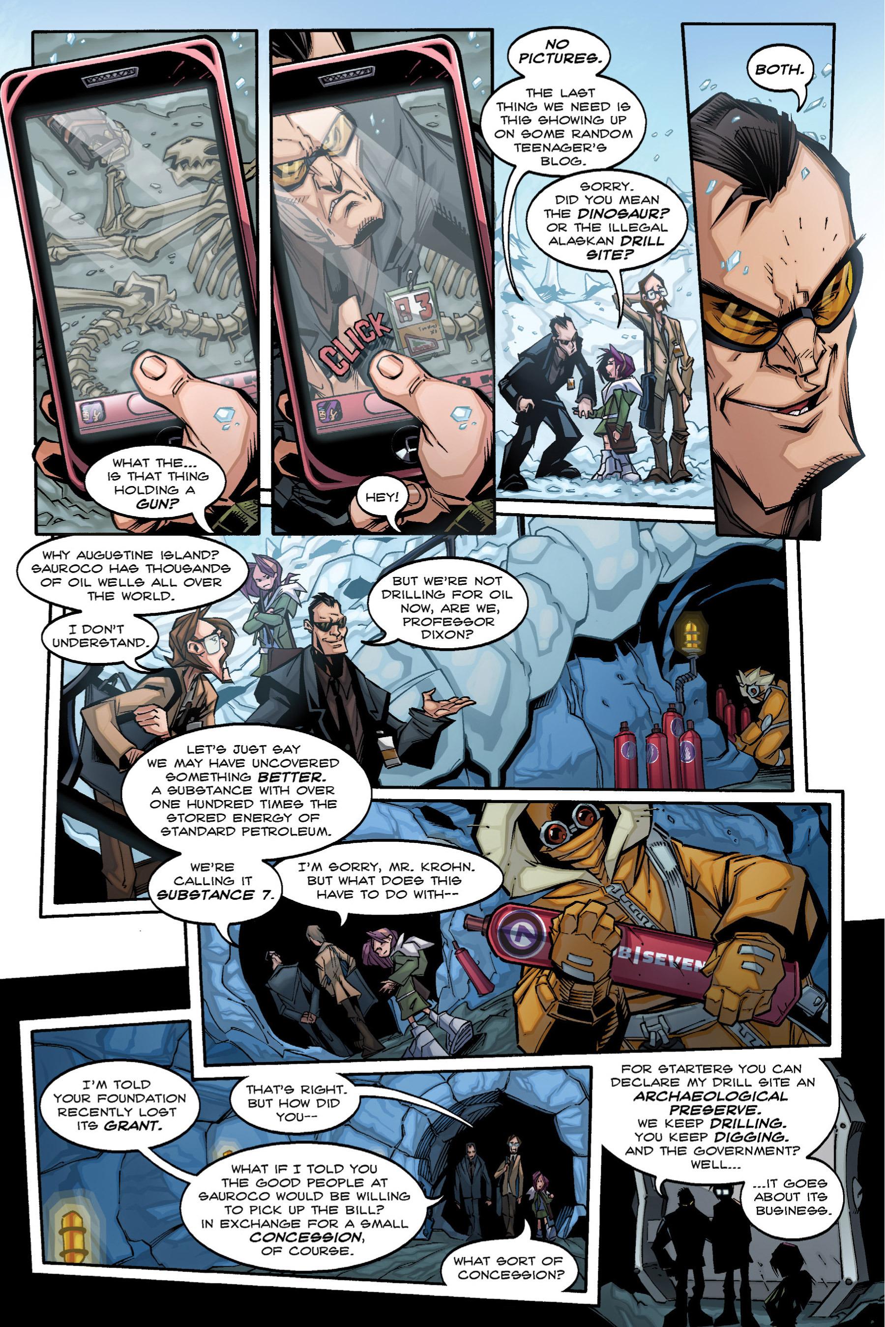 Read online Rexodus comic -  Issue # Full - 18