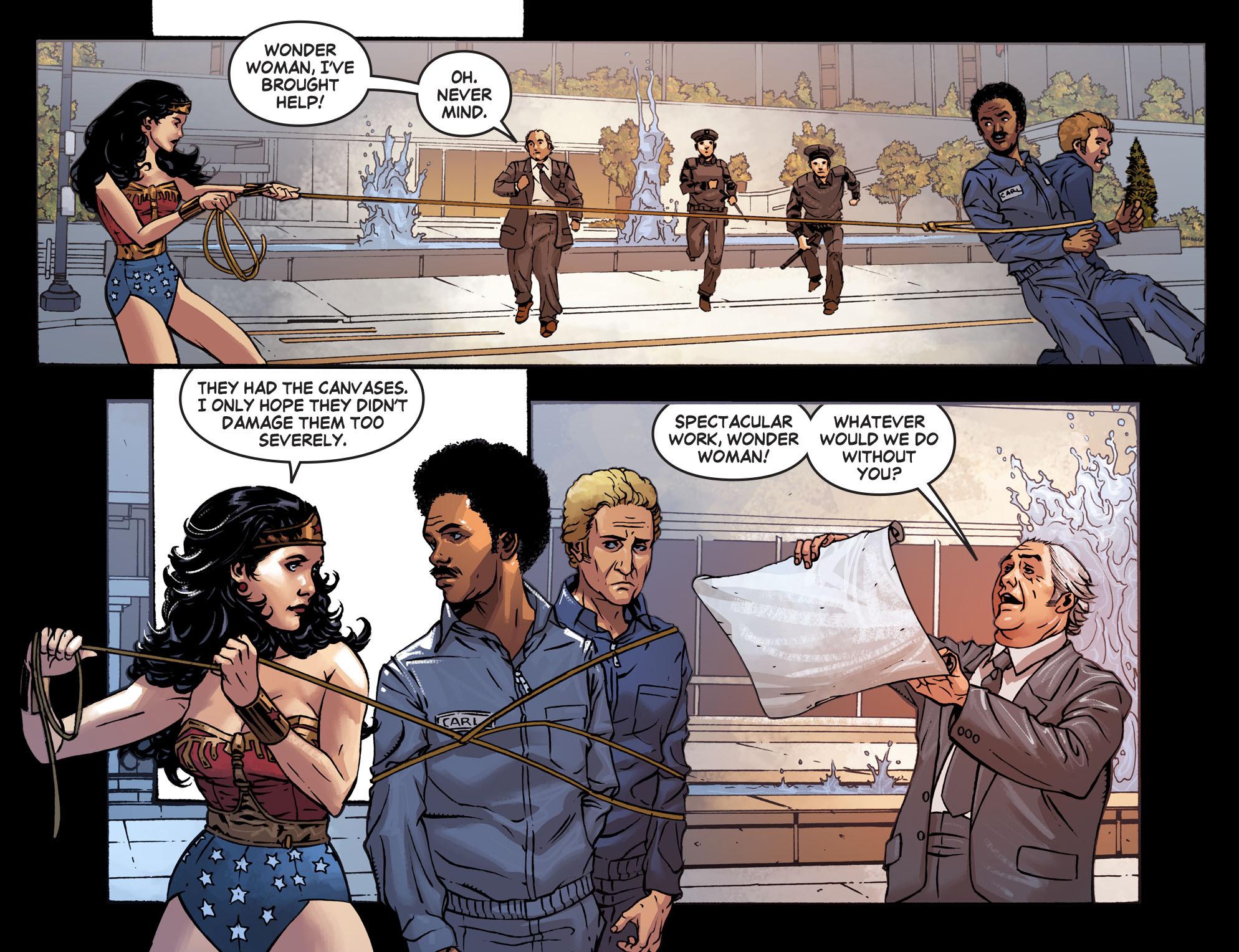 Read online Wonder Woman '77 [I] comic -  Issue #7 - 13