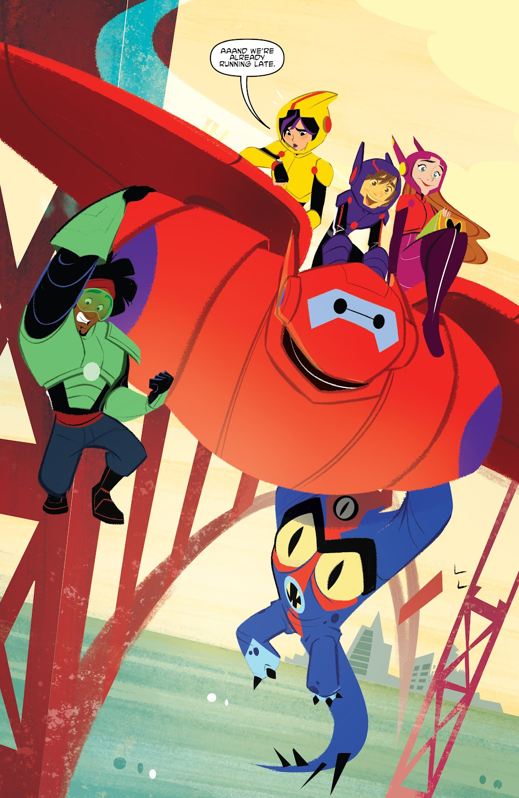 Read online Big Hero 6: The Series comic -  Issue #1 - 4