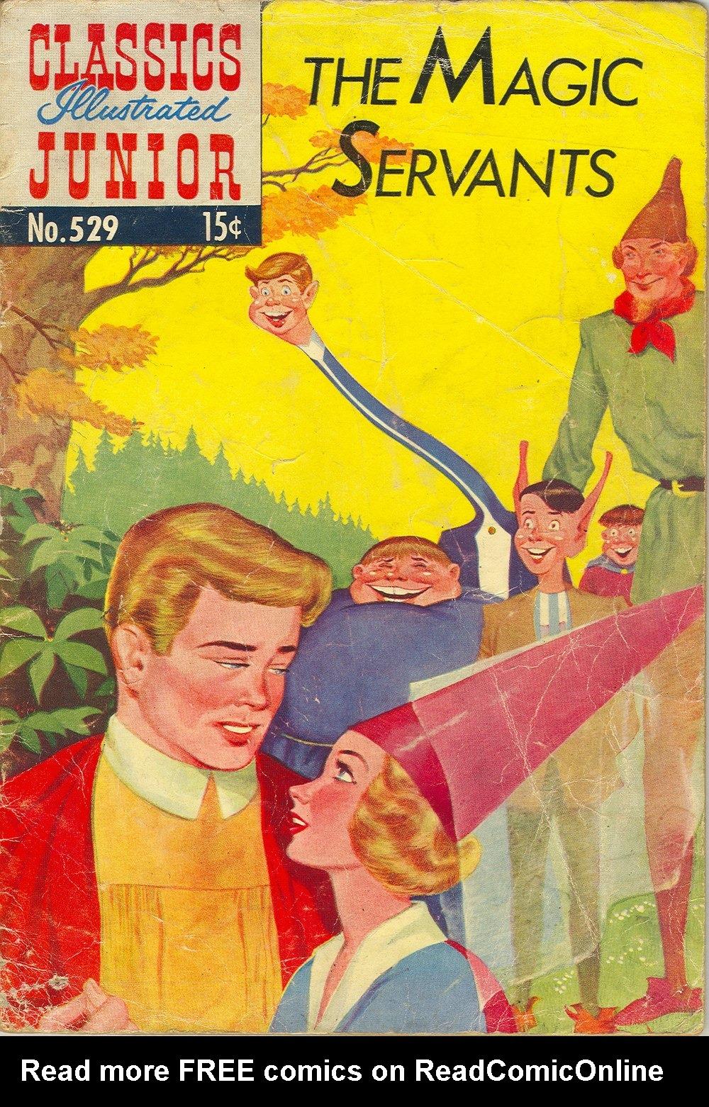 Classics Illustrated Junior 529 Page 1