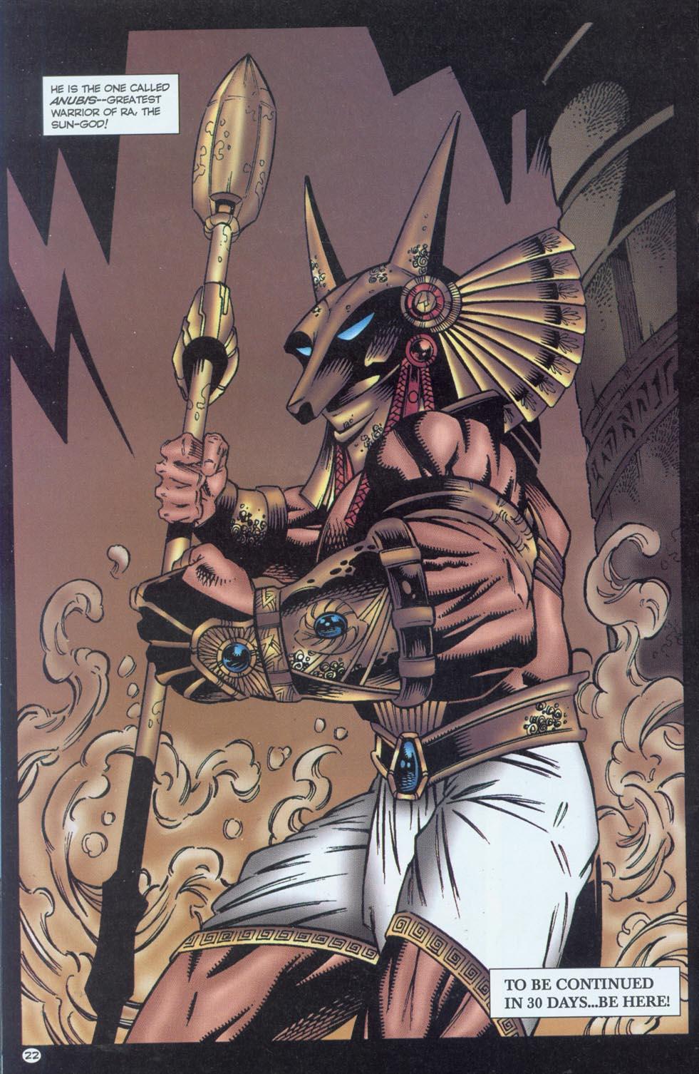 Read online Stargate comic -  Issue #1 - 24