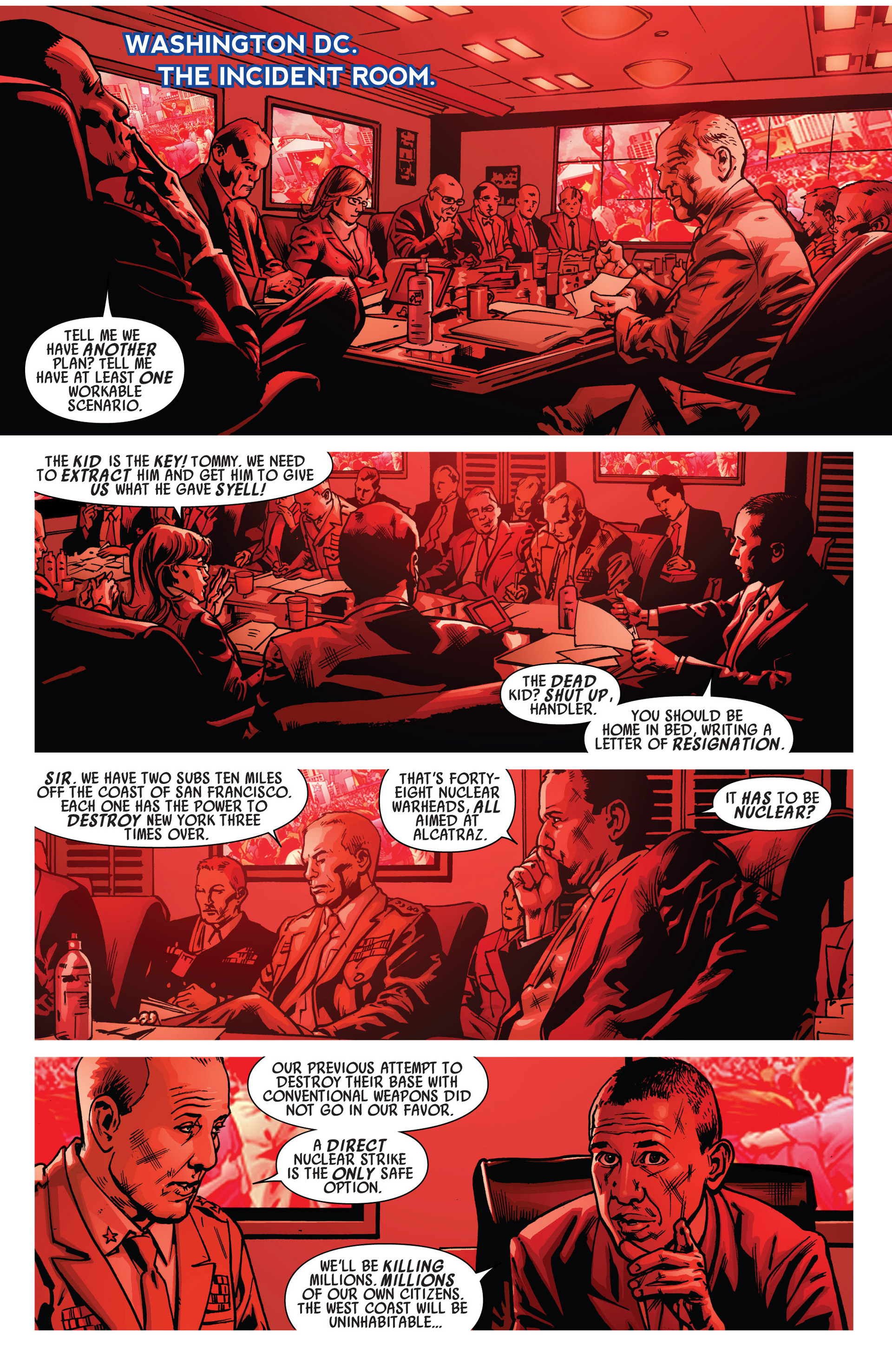 Read online America's Got Powers comic -  Issue #6 - 7