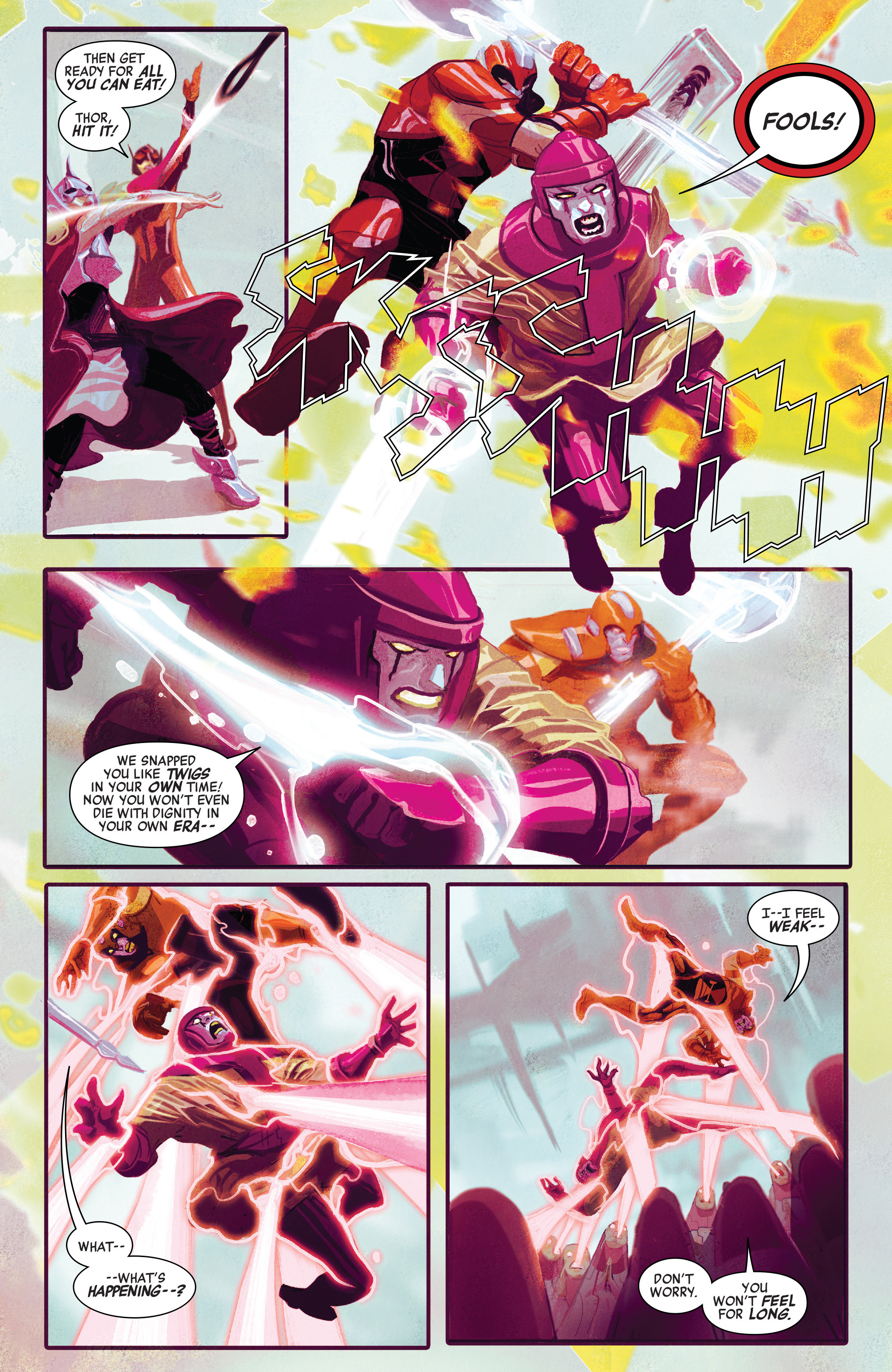 Read online Avengers (2016) comic -  Issue #3 - 19