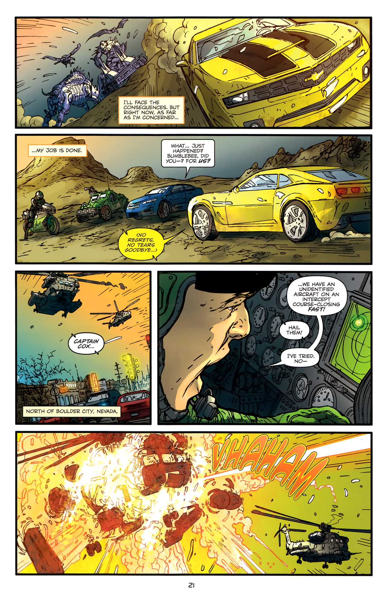Read online Transformers: Nefarious comic -  Issue #3 - 24