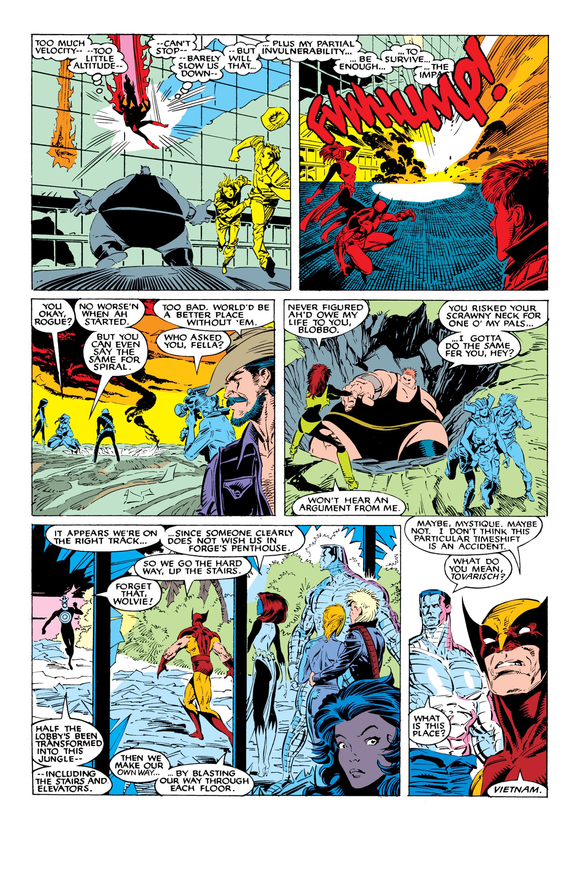 Read online Uncanny X-Men (1963) comic -  Issue #226 - 30