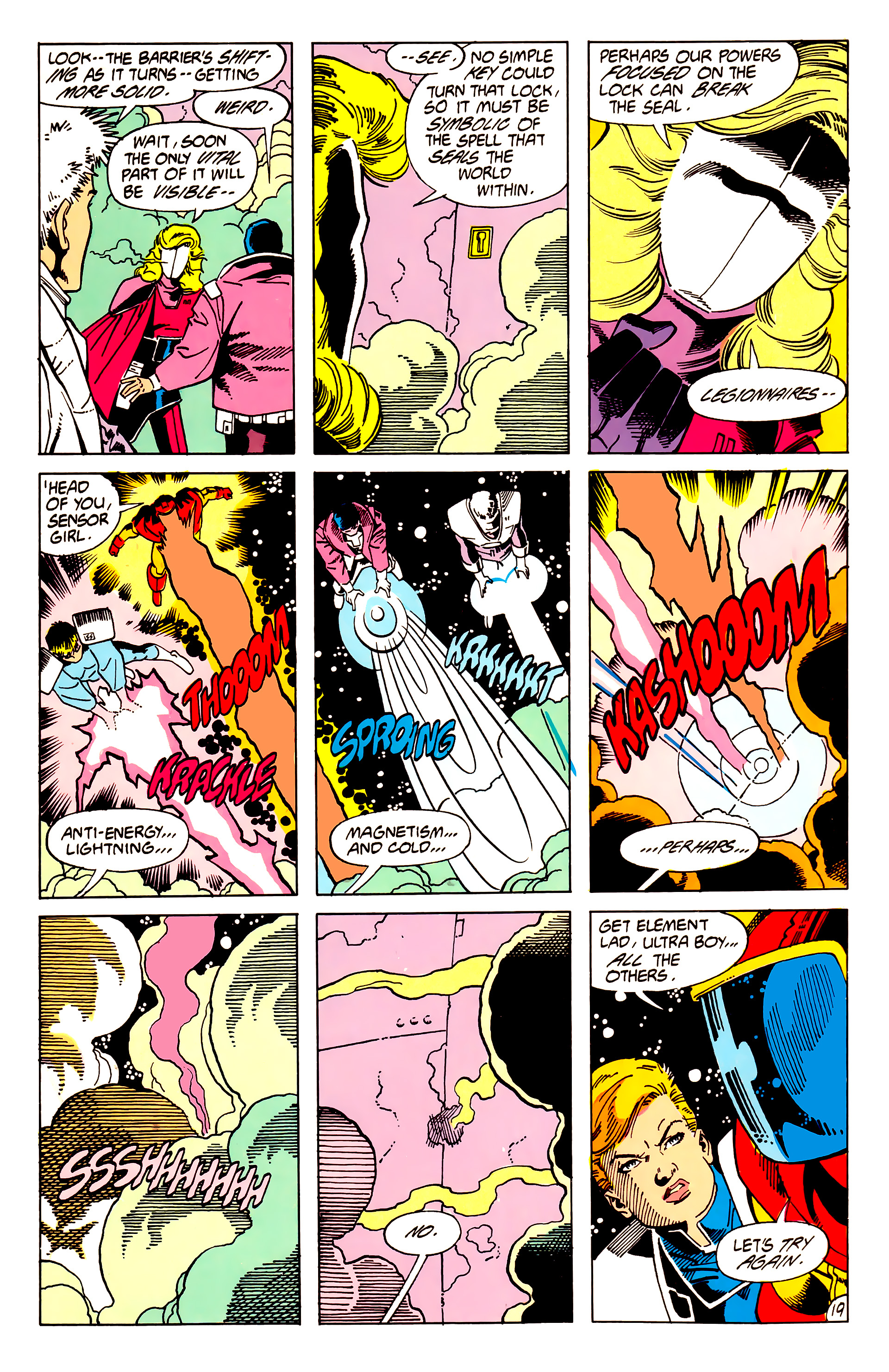 Legion of Super-Heroes (1984) 62 Page 19