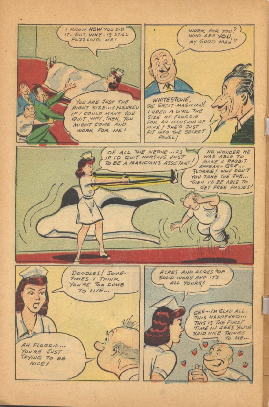 Read online Super-Magician Comics comic -  Issue #47 - 50