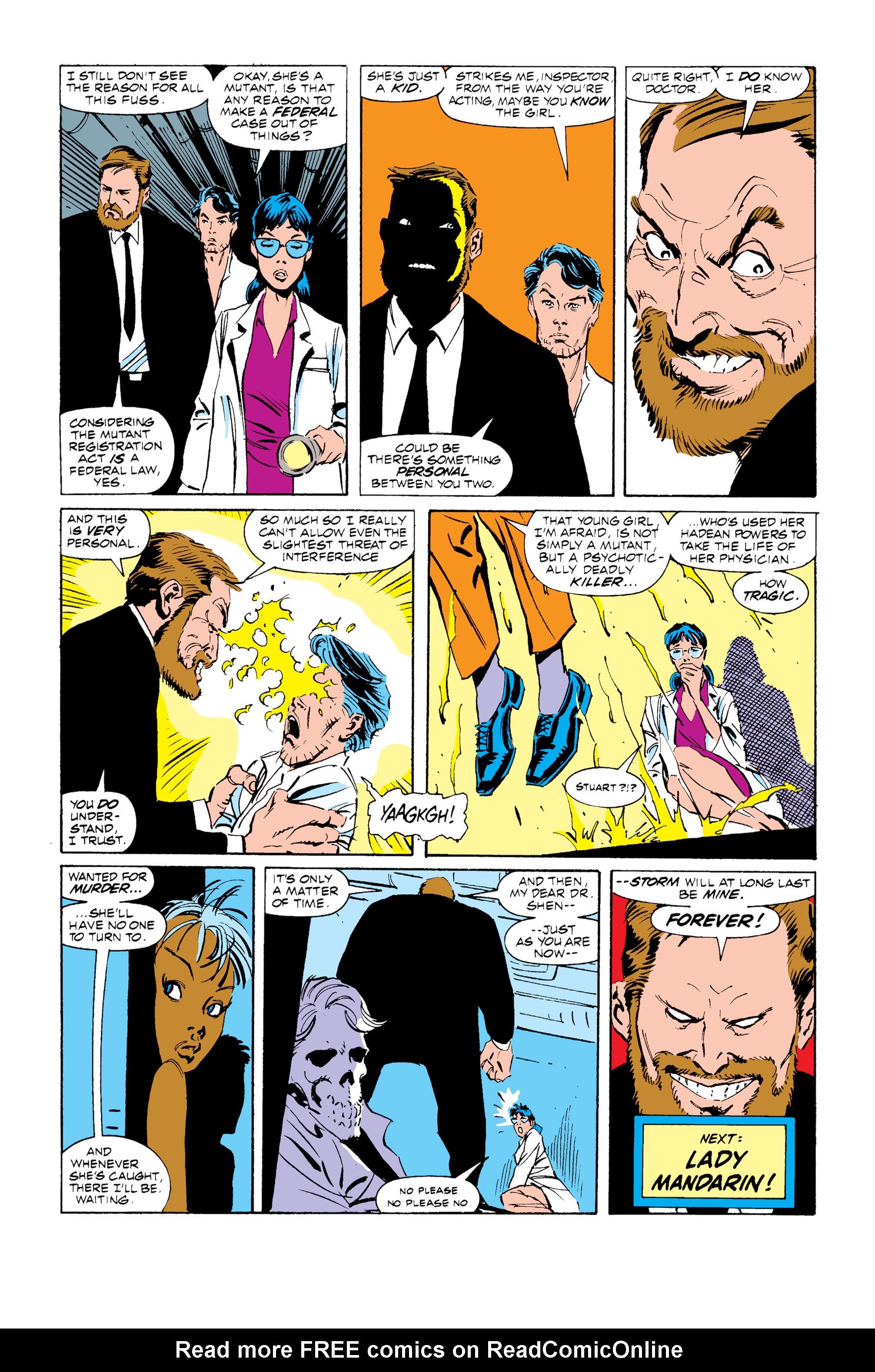 Read online Uncanny X-Men (1963) comic -  Issue #255 - 23