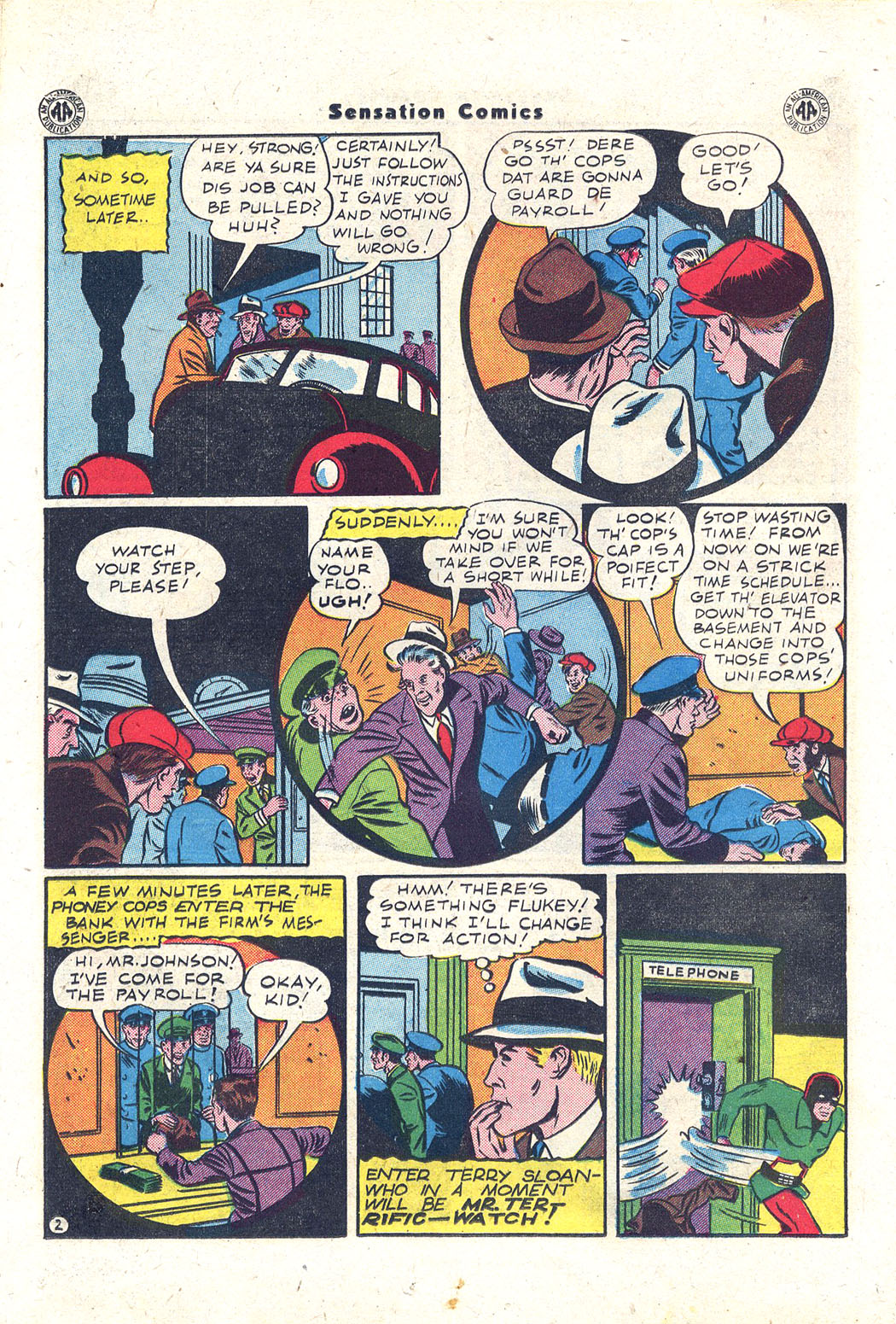 Read online Sensation (Mystery) Comics comic -  Issue #43 - 35