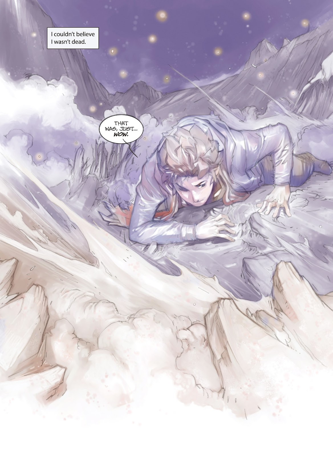 Read online Makeshift Miracle: The Girl From Nowhere comic -  Issue #1 - 16