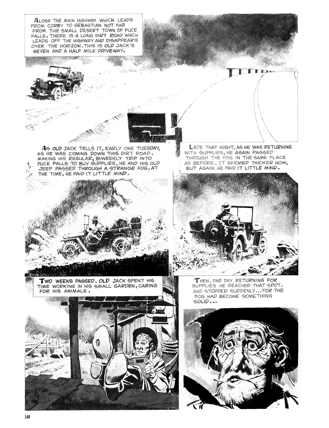 Read online Eerie Archives comic -  Issue # TPB 8 - 141