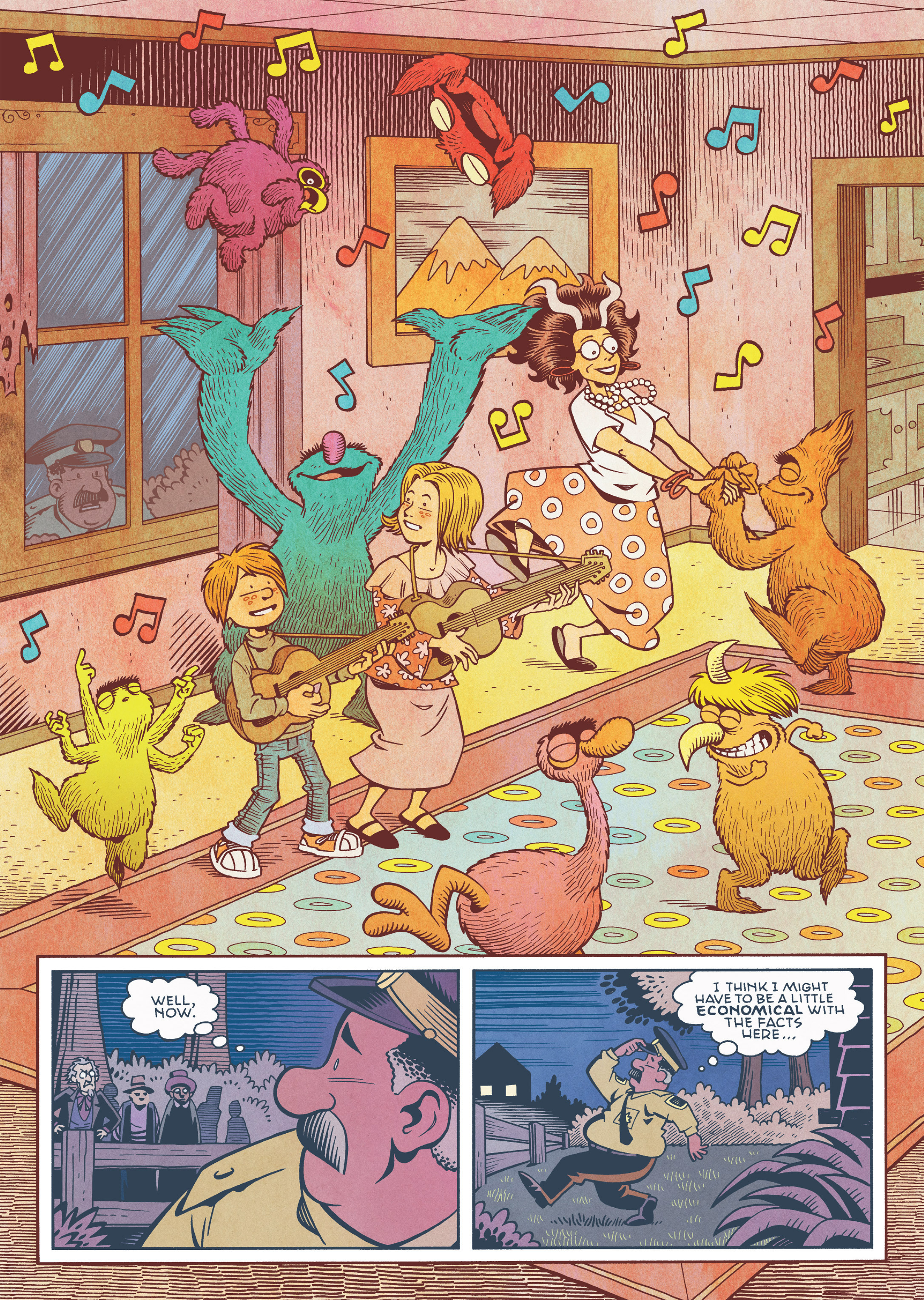 Read online Jim Henson's The Musical Monsters of Turkey Hollow comic -  Issue # Full - 54
