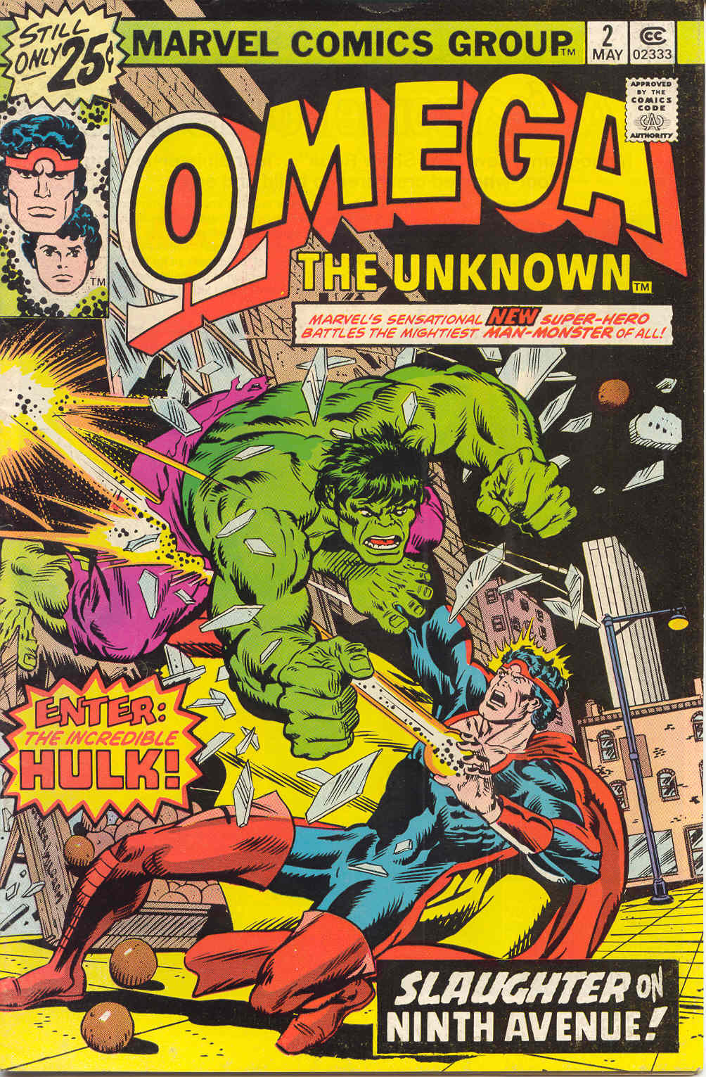 Omega the Unknown (1976) issue 2 - Page 1