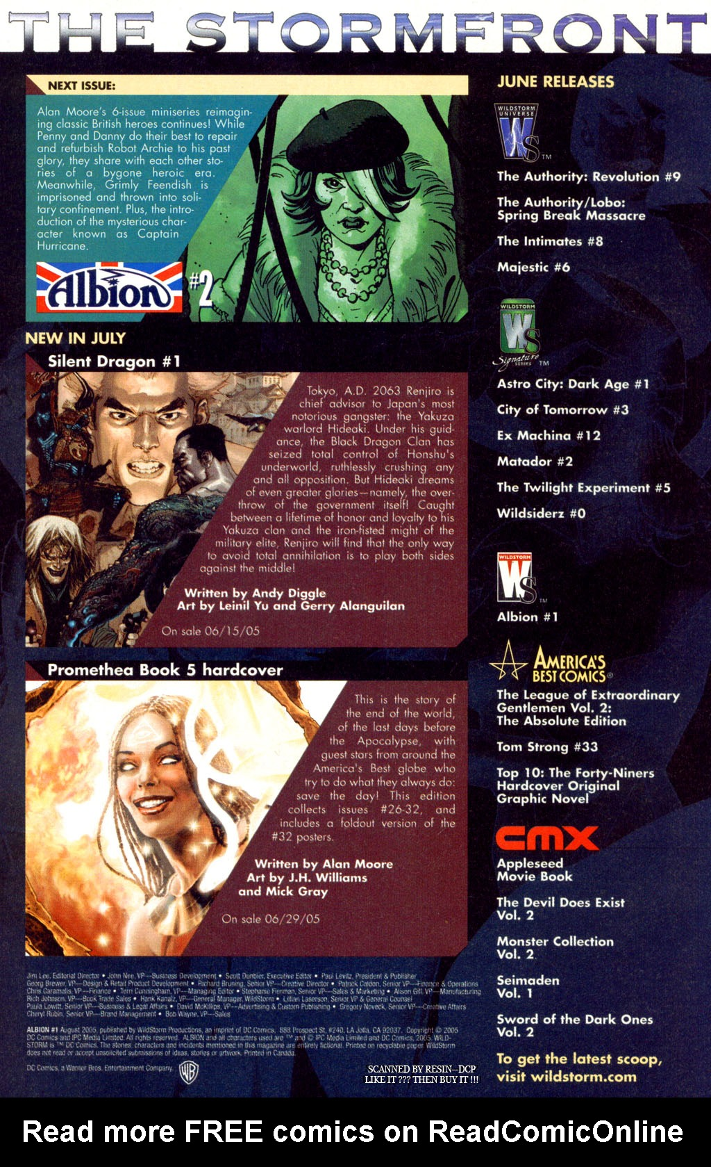 Read online Albion comic -  Issue #1 - 24