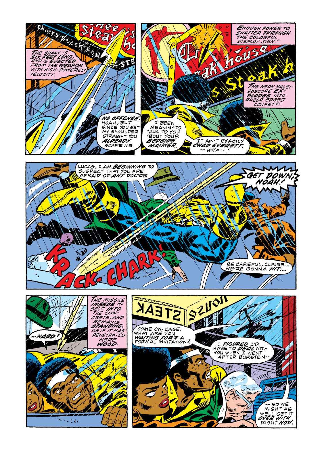 Read online Marvel Masterworks: Luke Cage, Power Man comic -  Issue # TPB 3 (Part 1) - 29