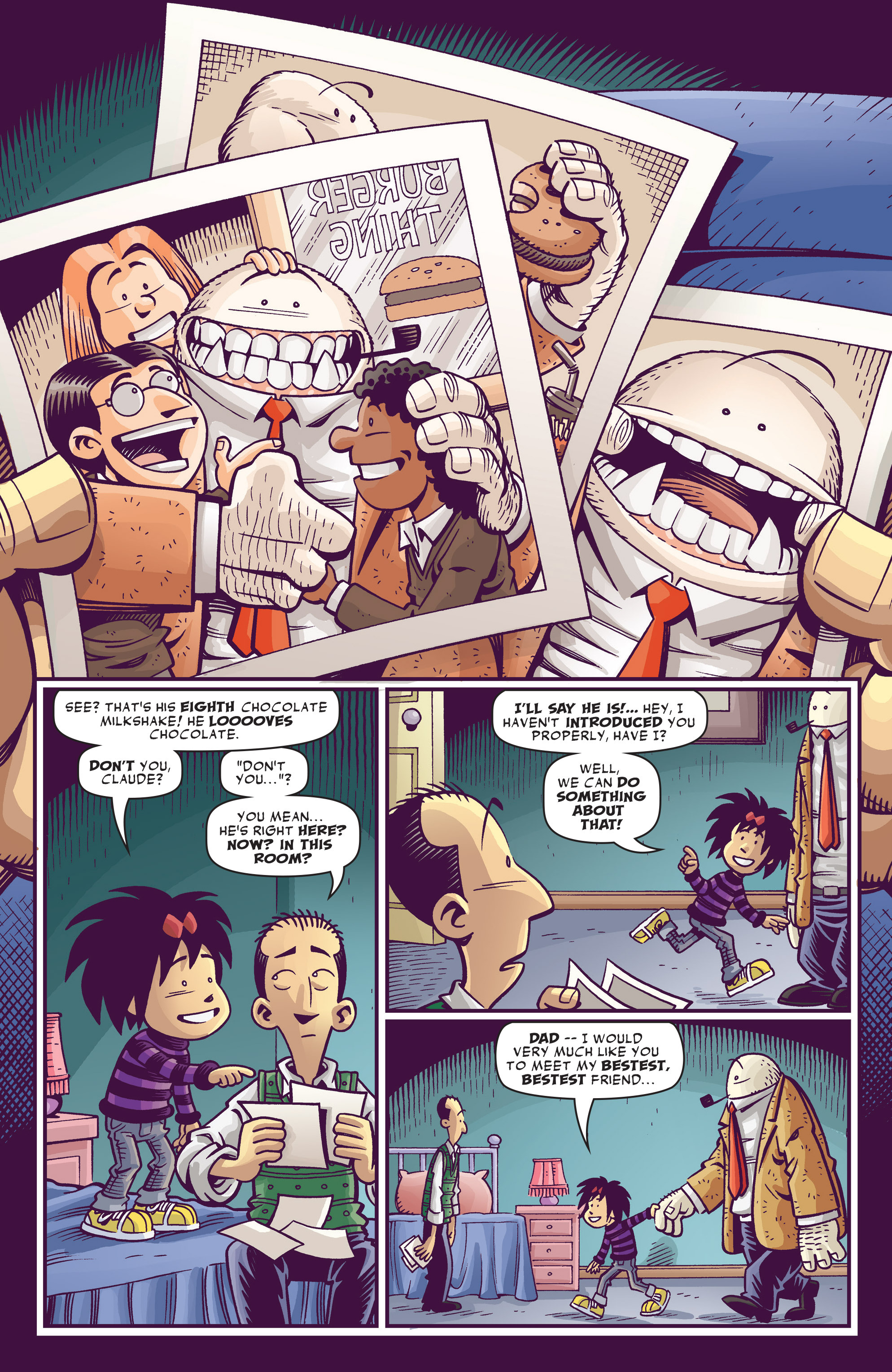 Read online Abigail And The Snowman comic -  Issue #3 - 22
