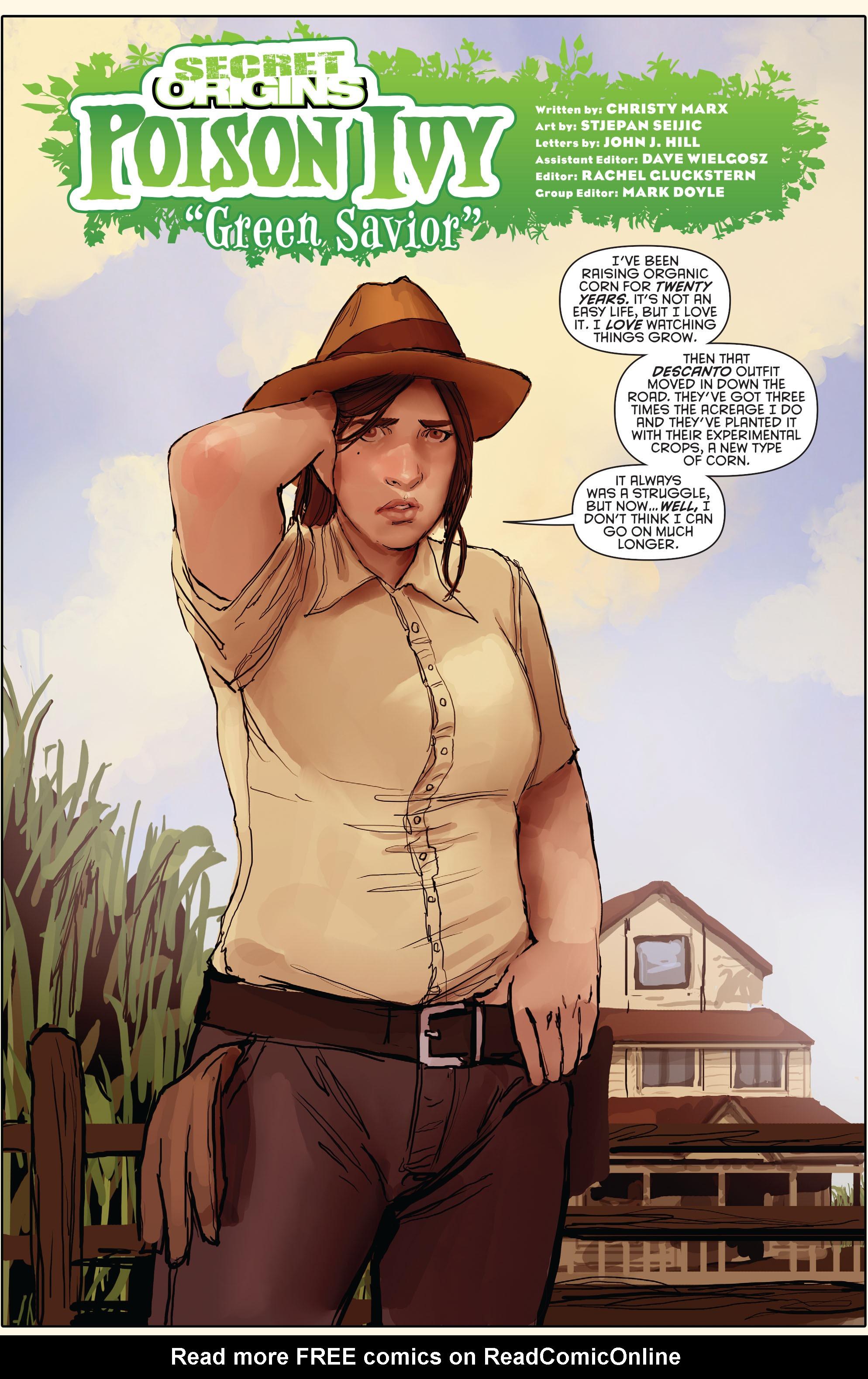Read online Secret Origins (2014) comic -  Issue #10 - 26