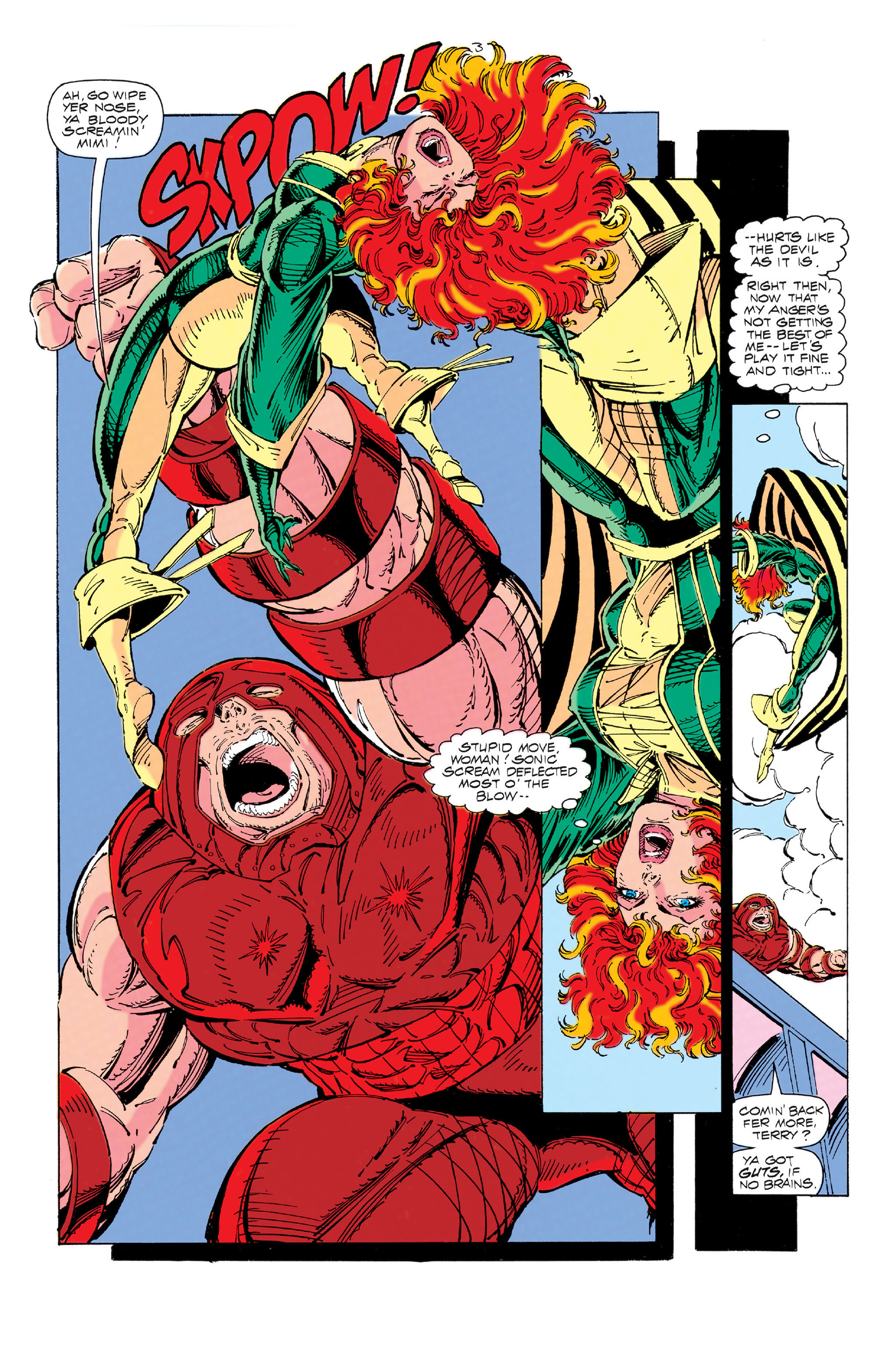 Read online X-Force (1991) comic -  Issue #3 - 4