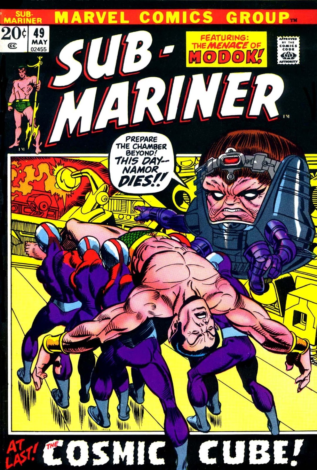 The Sub-Mariner 49 Page 1