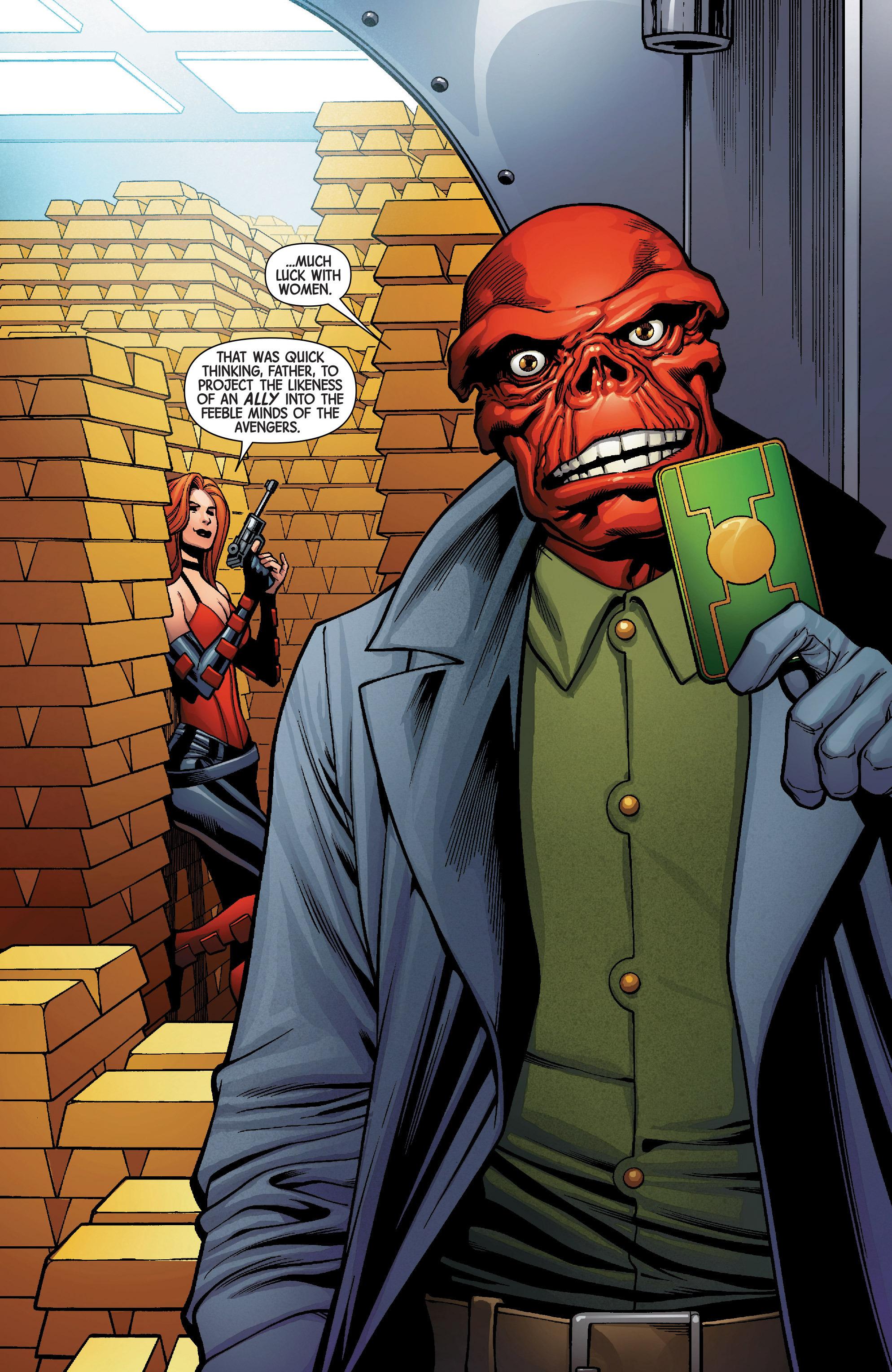Read online Uncanny Avengers [II] comic -  Issue #5 - 20