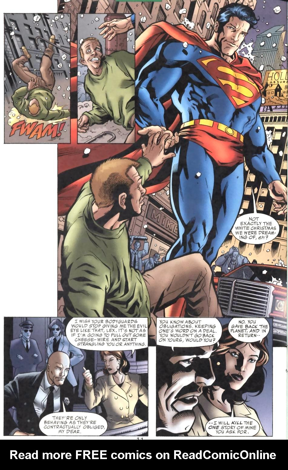 Read online Adventures of Superman (1987) comic -  Issue #575 - 12