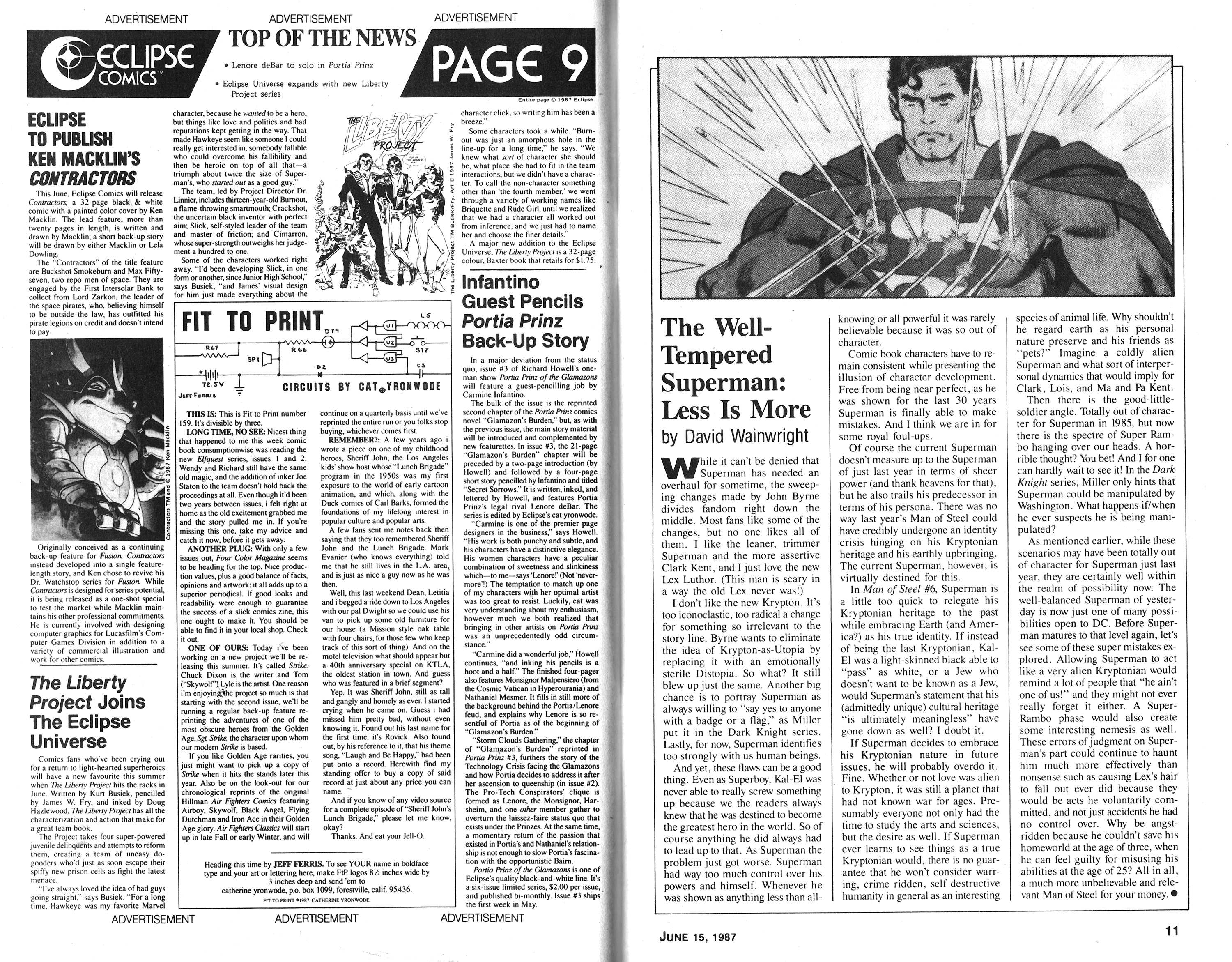 Read online Amazing Heroes comic -  Issue #119 - 6