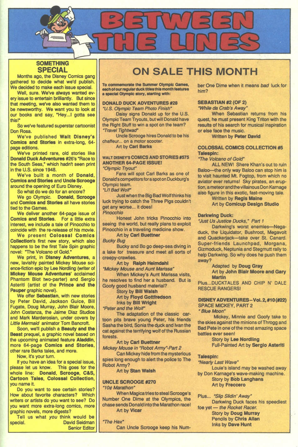 Walt Disney's Comics and Stories issue 575 - Page 49